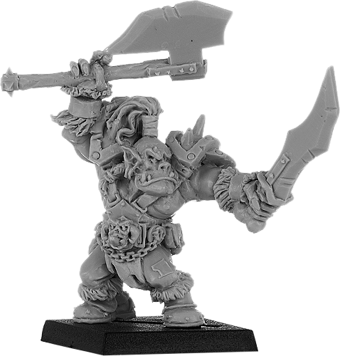 BaneLords: Brazhag, Orc Warlord w/Two Axes