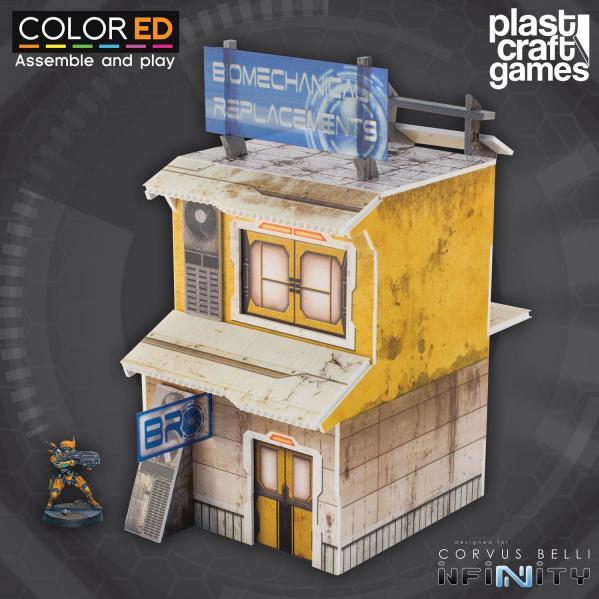 Infinity Terrain: Yellow Building (Color ED)