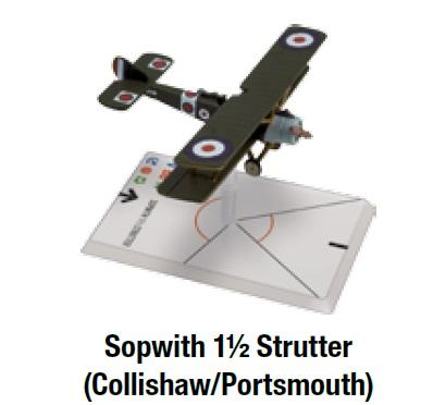 Wings Of Glory WWI: Sopwith 1 1/2 Strutter (Collishaw/Portsmouth)