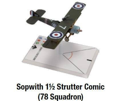 Sopwith 1 1/2 Strutter Comic (78 Squadron)
