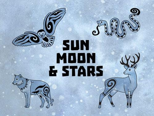 Sun, Moon & Stars (Card Game)