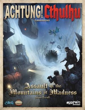 Achtung! Cthulhu: Assault On The Mountains Of Madness (Call Of Cthulhu/Savage Words, HC, Full Color)