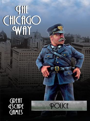 The Chicago Way: Police Boxed Set