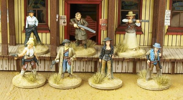 Dead Man's Hand: Daughters Of The West Boxed Gang
