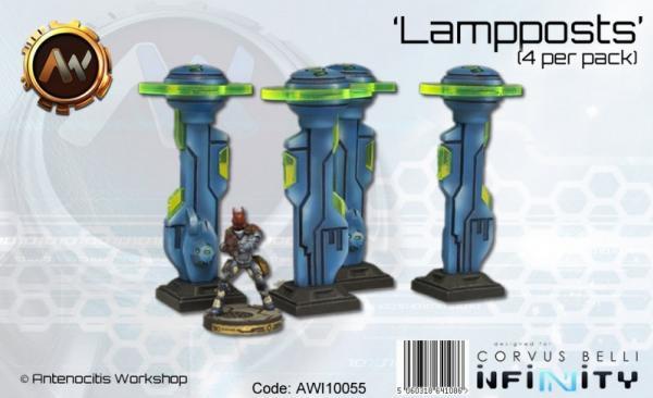 Lamp Posts (x4)