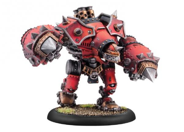 Warmachine: (Khador) Berserker/Mad Dog/Rager Heavy Warjack (hard plastic)