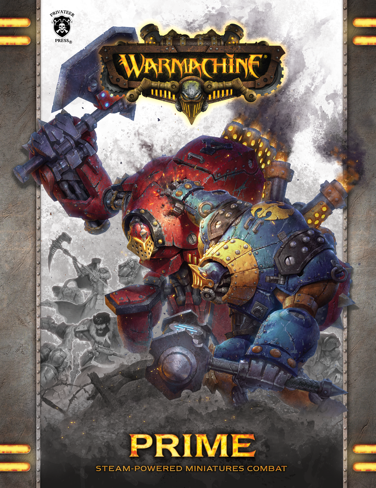 Warmachine: Prime Rulebook Mk3 (HC)