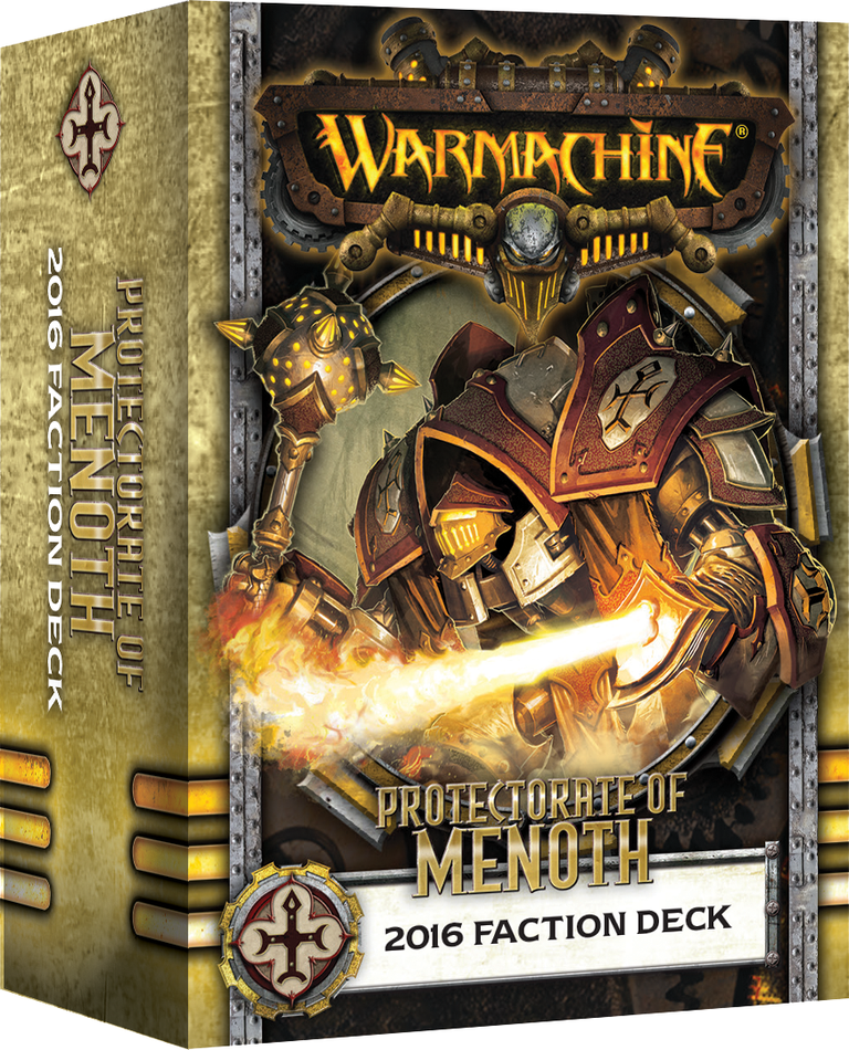 Warmachine: Protectorate of Menoth 2016 Faction Deck (Mk3)