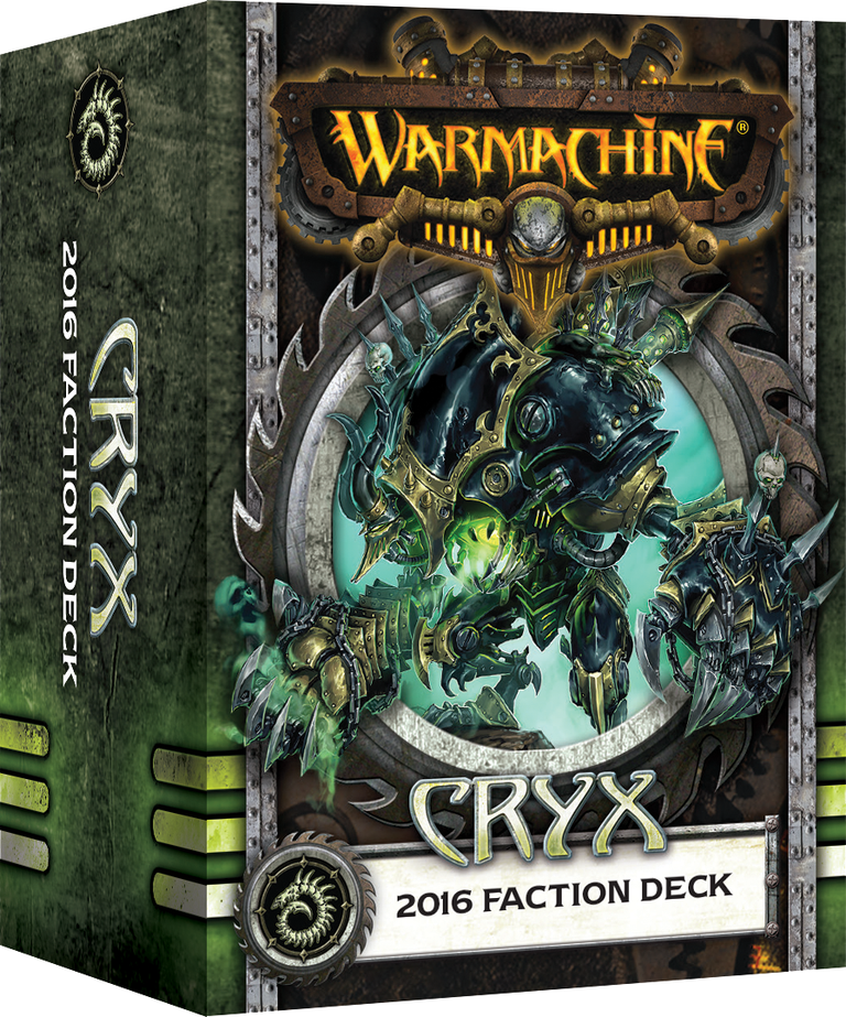 Warmachine: Cryx 2016 Faction Deck (Mk3)