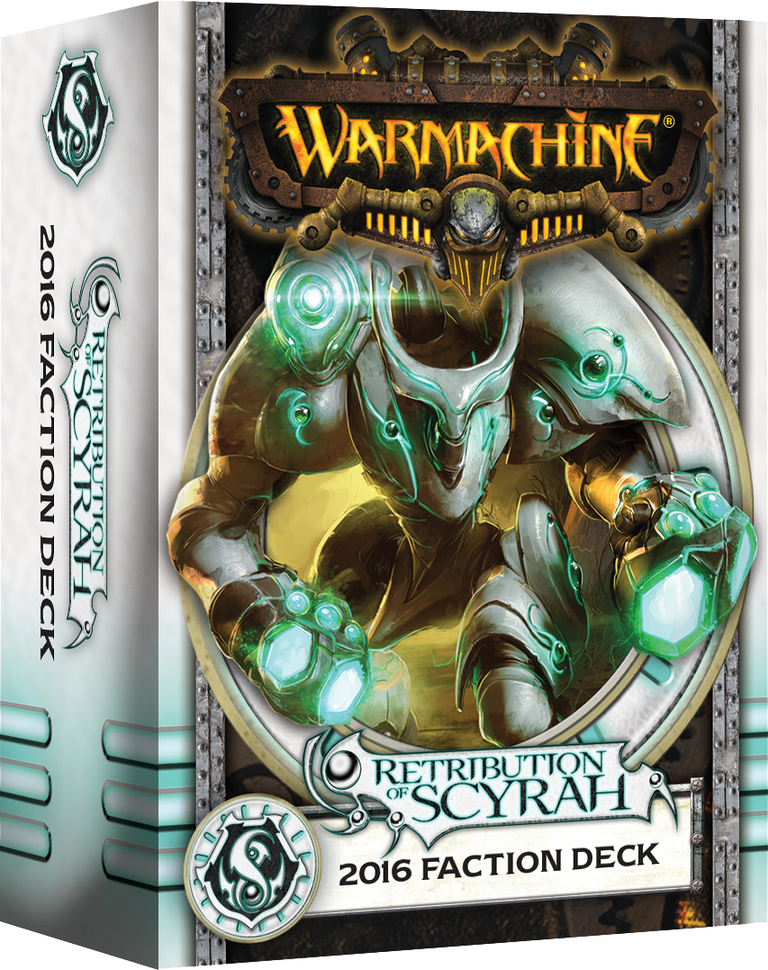 Warmachine: Retribution of Scyrah 2016 Faction Deck (Mk3)