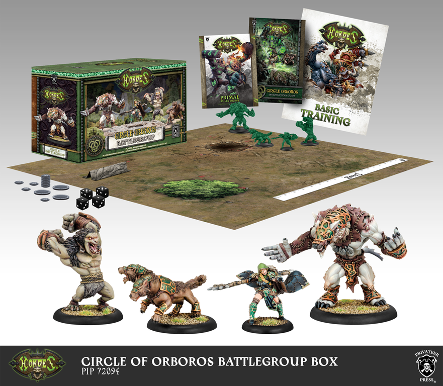Hordes: Circle Orboros Battlegroup Box (Mk3)