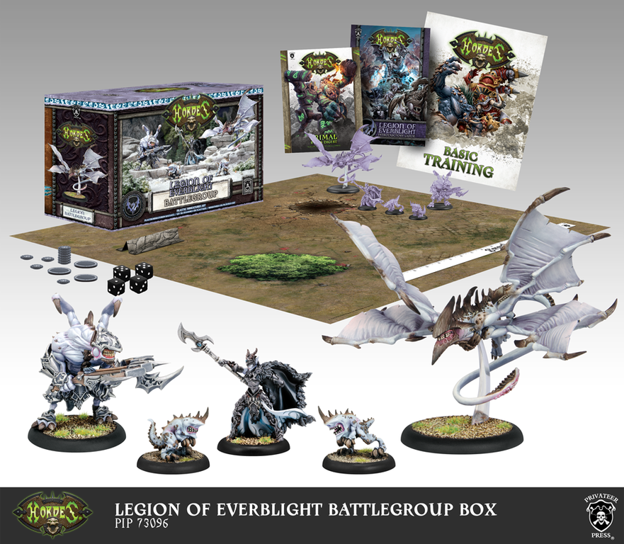 Hordes: Legion of Everblight Battlegroup Box (Mk3)