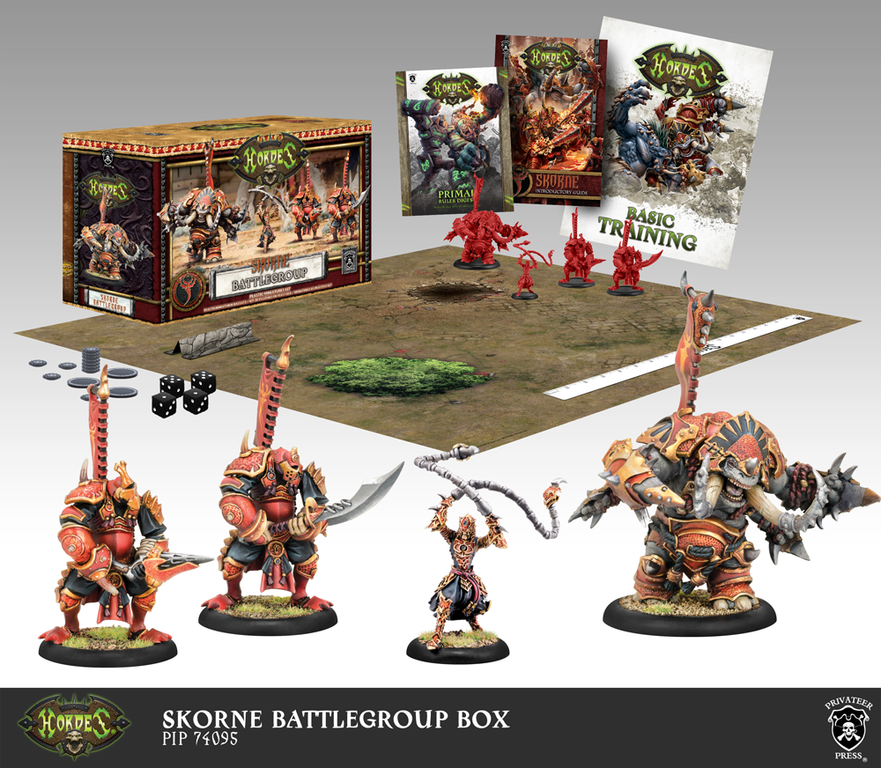 Hordes: Skorne Battlegroup Box (Mk3)