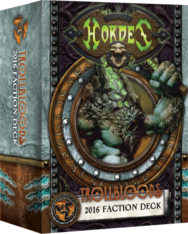 Hordes: Trollbloods 2016 Faction Deck (Mk3)