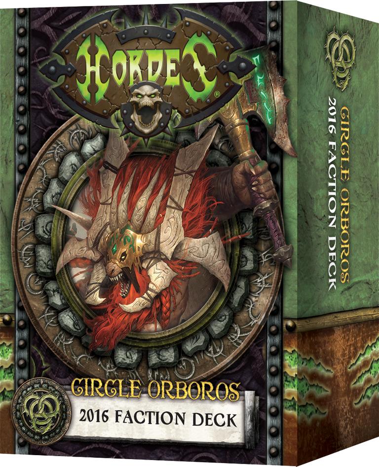 Hordes: Circle Orboros 2016 Faction Deck (Mk3)