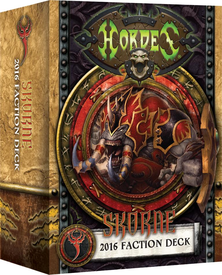 Hordes: Skorne 2016 Faction Deck (Mk3)