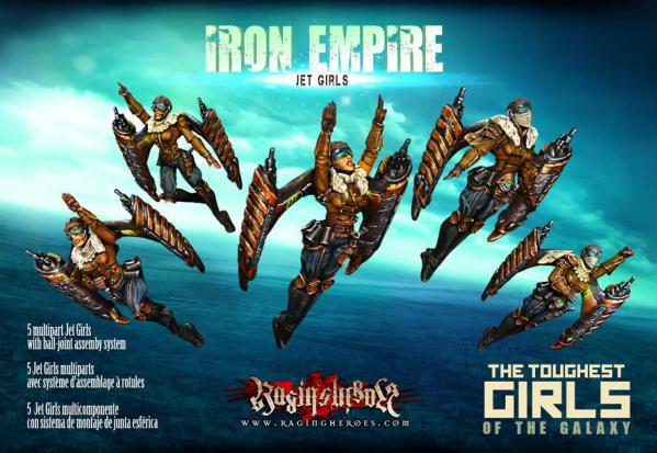Raging Heroes: (Iron Empire) Jet Girls (5)