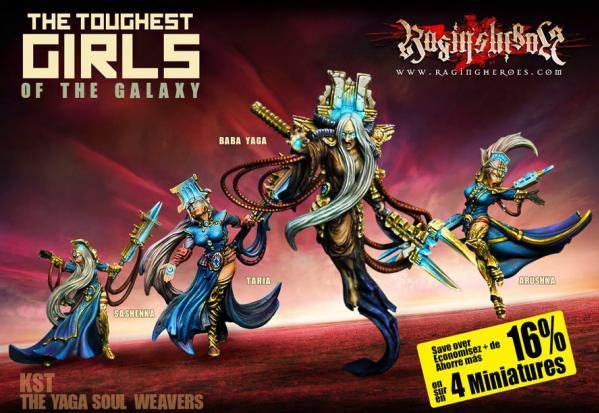 Raging Heroes: (Kurganova Shock Troops) The Yaga Soul Weavers