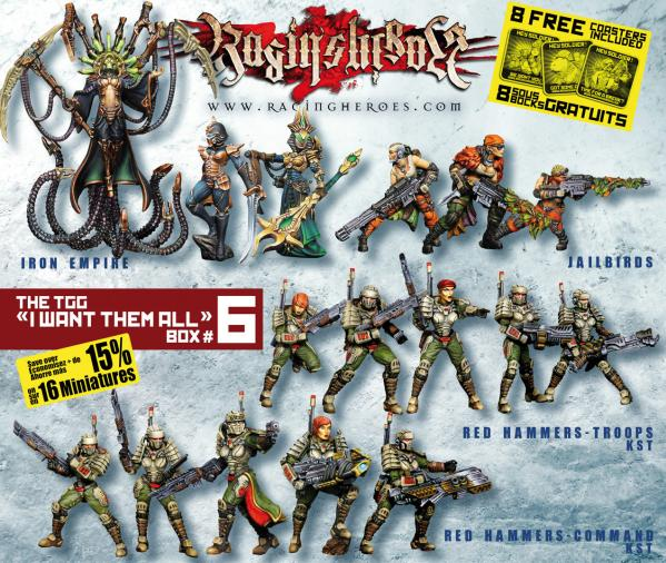 Raging Heroes: I Want Them All Box #6