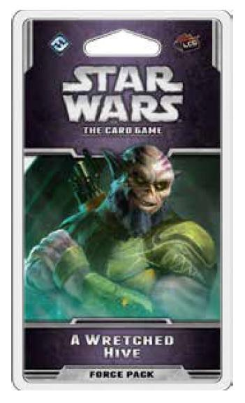 Star Wars LCG: A Wretched Hive Force Pack