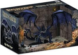Pathfinder Battles: Heroes and Monsters Black Dragon