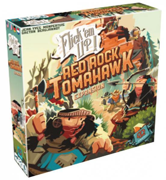 Flick 'Em Up! Red Rock Tomahawk Expansion
