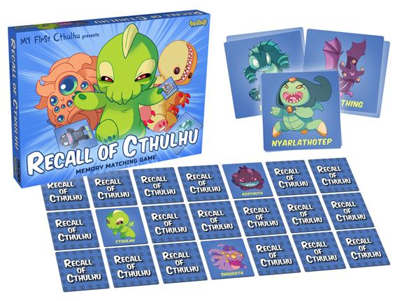 Recall Of Cthulhu Memory Matching Game