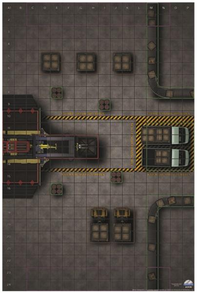Marvel HeroClix: Premium Map - Factory