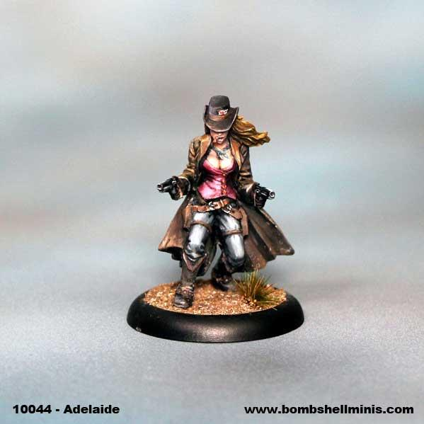 Bombshell Miniatures: Adelaide Winchester