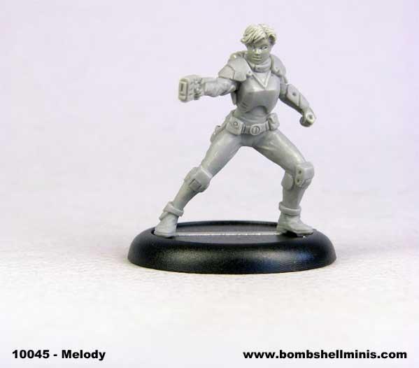 Bombshell Miniatures: Melody Blaze