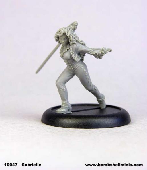 Bombshell Miniatures: Gabrielle