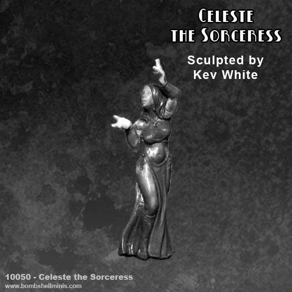 Bombshell Miniatures: Celeste The Sorceress