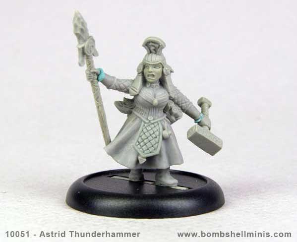 Bombshell Miniatures: Astrid Thunderhammer