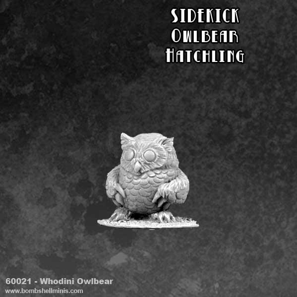 Bombshell Miniatures: Sidekicks - Whodini The Owlbear