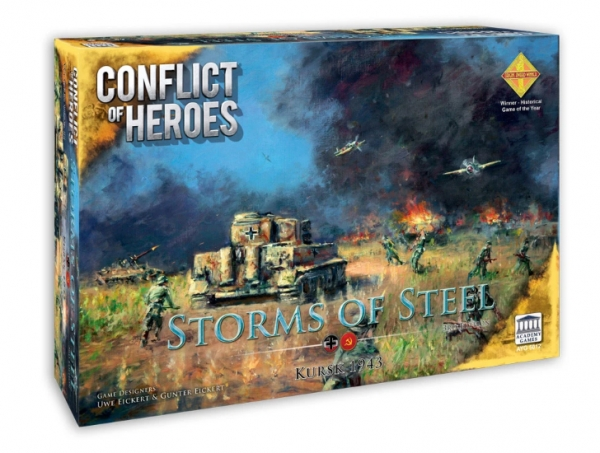 Conflict Of Heroes: Storms Of Steel! Kursk, 1943 [2nd Edition]
