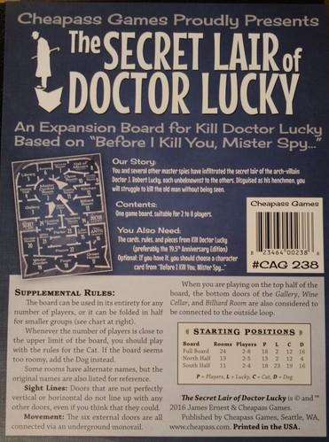 Secret Lair Of Doctor Lucky