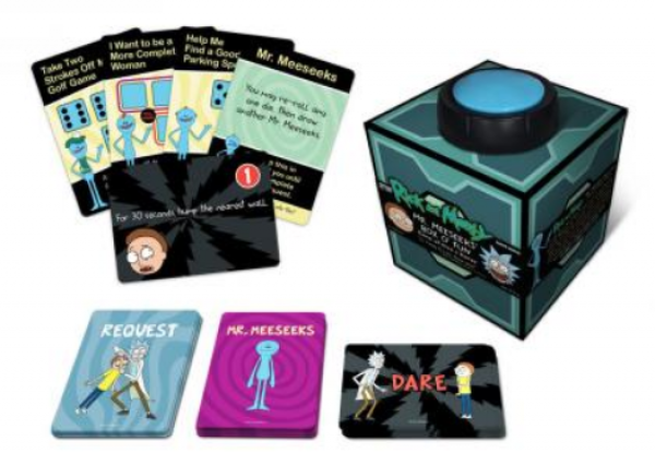 Mr. Meeseeks' Box O' Fun: The Rick & Morty Dice & Dares Game