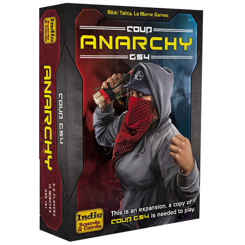 Coup G54: Anarchy (Expansion)