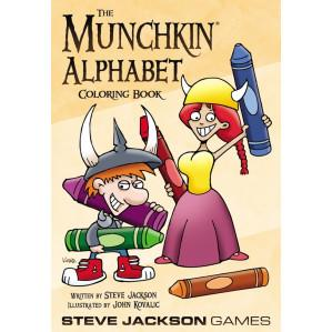 Munchkin: Alphabet Coloring Book