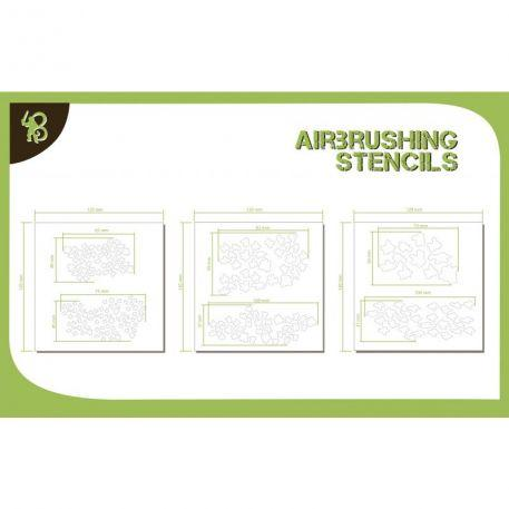 Airbrush Stencils: Cammo Pattern 1