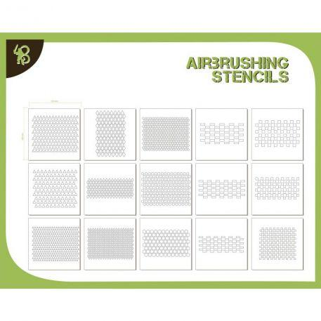 Airbrush Stencils: (Pack) Patterns