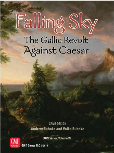 COIN Series: (Volume VI) Falling Sky - The Gallic Revolt Against Caesar