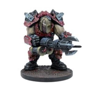 Deadzone, 2nd Edition: (Mercenary) Ogre Warrior