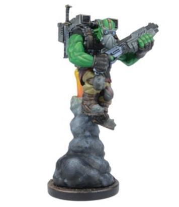 (Mercenary) Chief Mauhulakh, Orc Sky Scraper