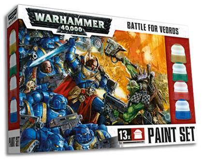 Battle for Vedros Paint Set