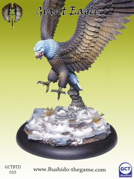 Bushido Miniatures: (Tengu Descension) Giant Eagle