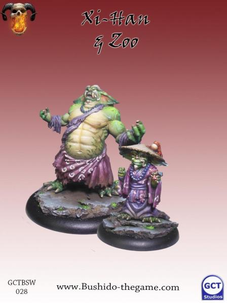 Bushido Miniatures: (Savage Wave) Xi-Han & Zoo