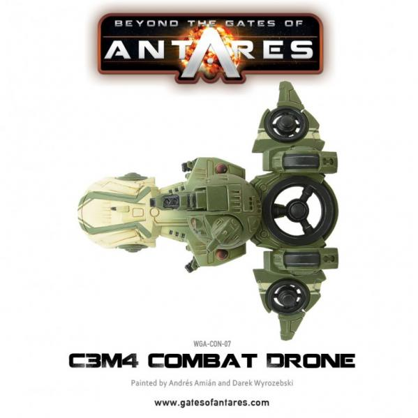 Beyond The Gates Of Antares: (Concord) C3M4 Drone