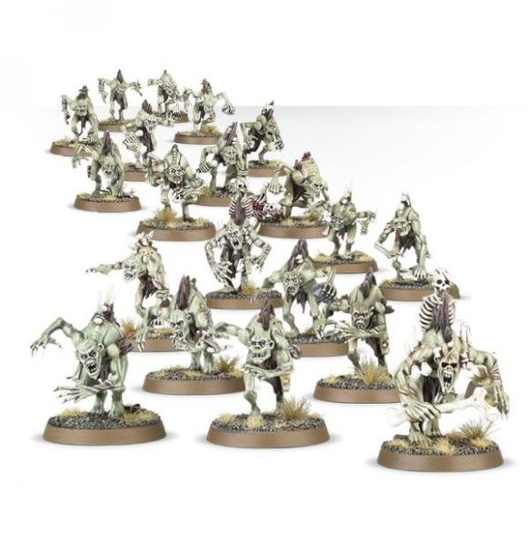 Age of Sigmar: Crypt Ghouls