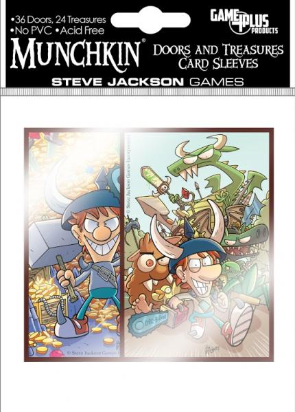 Munchkin: Doors & Treasures Card Sleeves (60)
